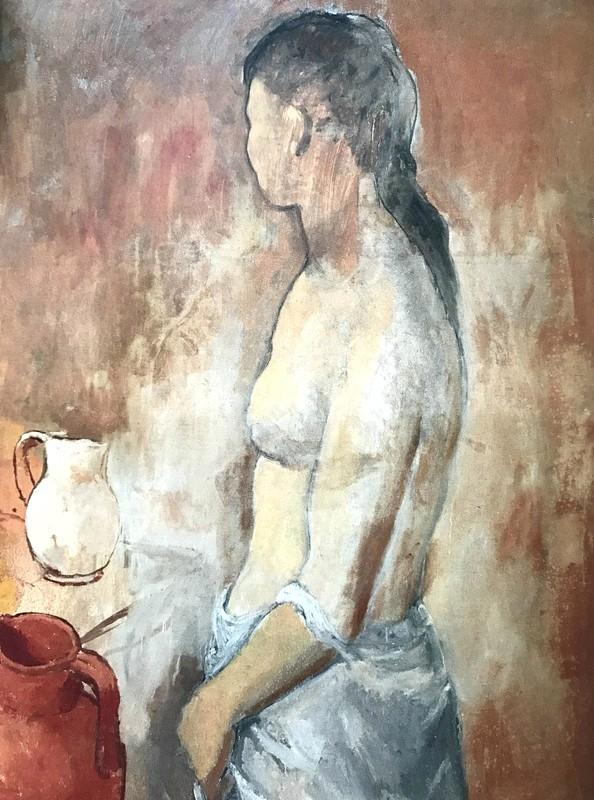 Picasso-Demi nu- à la cruche-ParisBazaar-Ghis