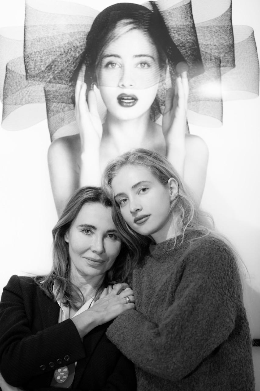 Sylvia Galmot-mère et fille-ParisBazaar-Marion