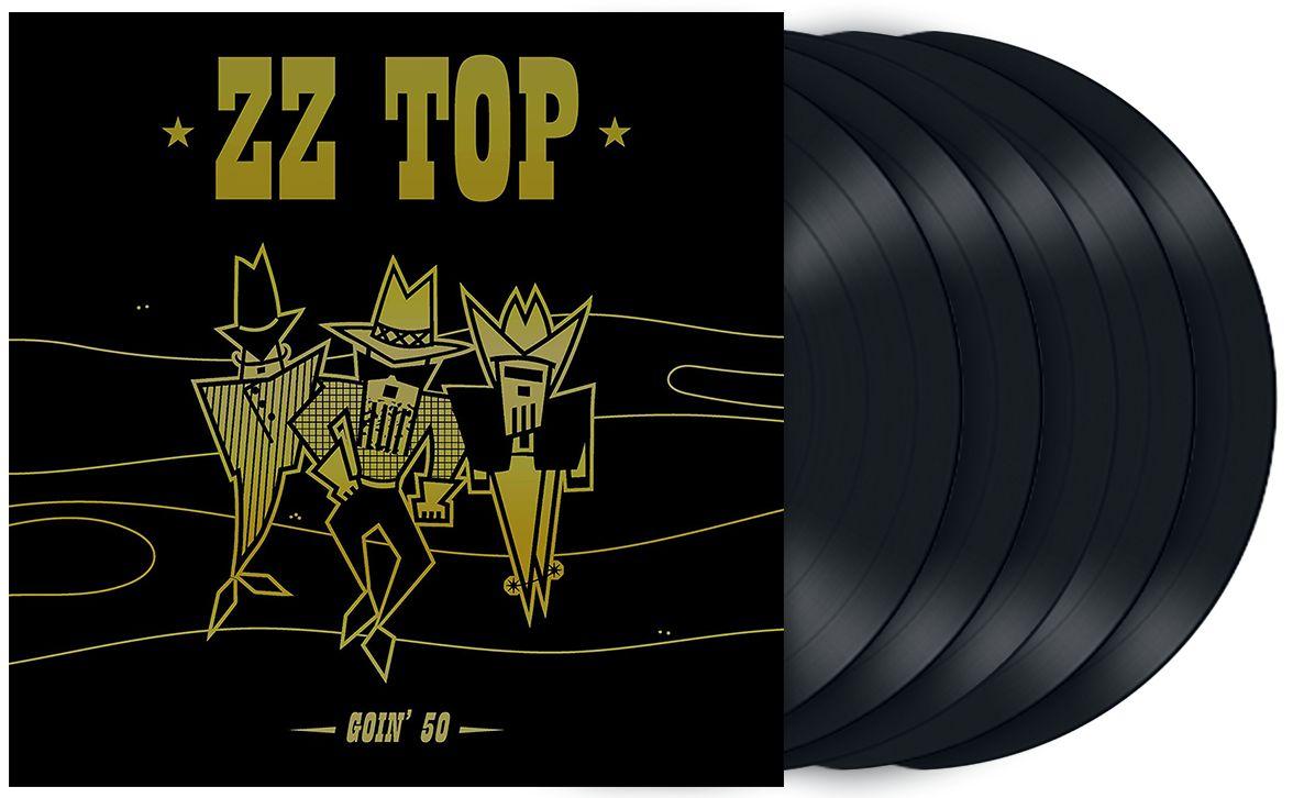 ZZTOP-Goin'50-Disques-ParisBazaar-Borde