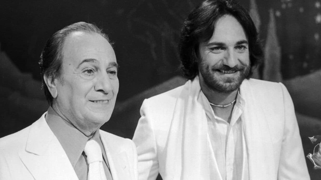 Laurent et Tino Rossi-C'était le fils du Père Noël-Rock'n'Râleur-ParisBazaar-Basset