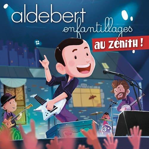 Aldebert-Enfantillages LIve-Cover-Aldebert Inconnu Célèbre depuis Dix Ans-ParisBazaar-Borde