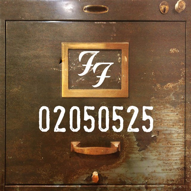 Foo Fighters-EP-Cover-Le Passé Composé des Foo Fighters-ParisBazaar-Laurent Borde