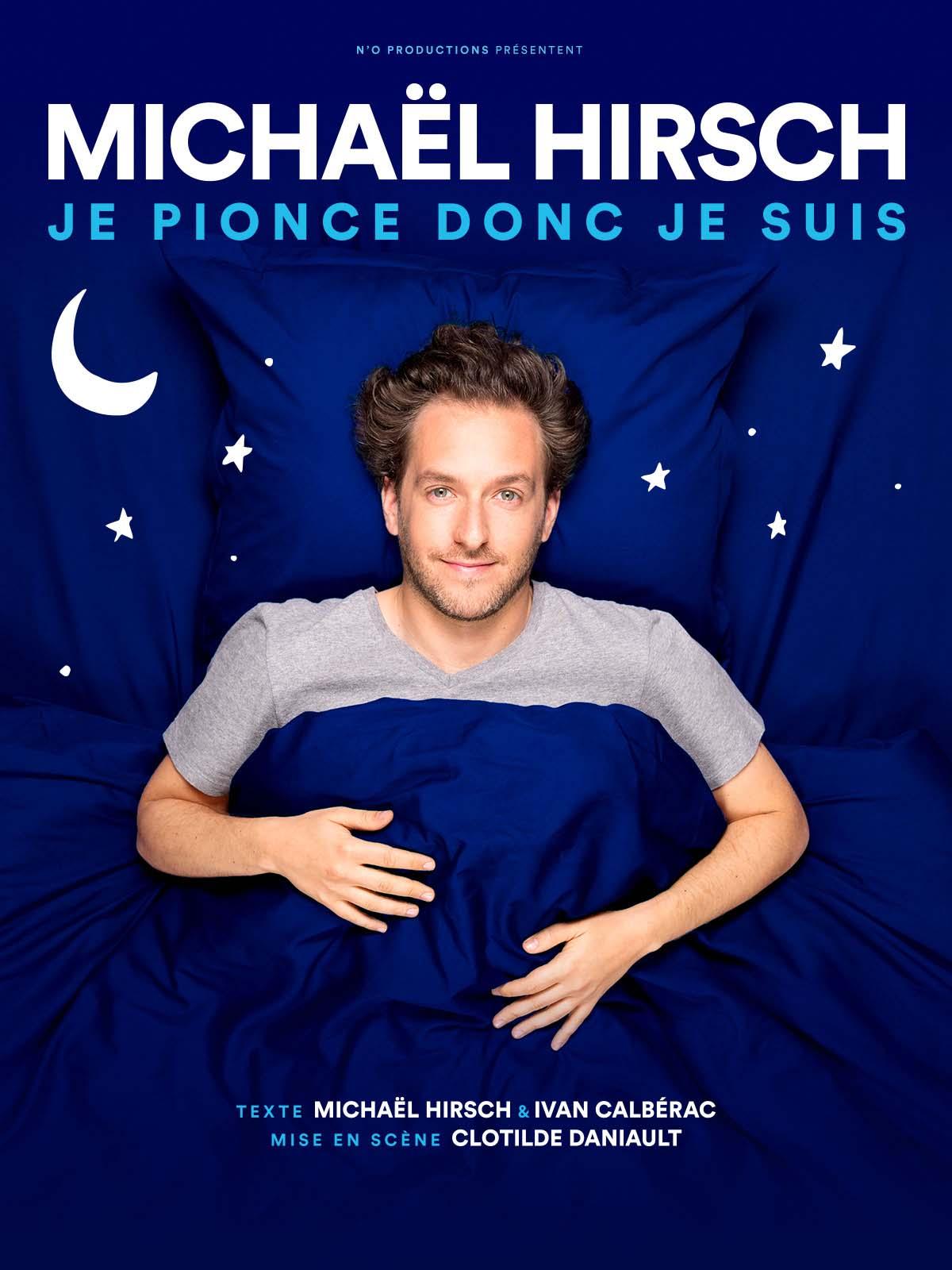 Michaël Hirsch-je pionce donc je suis-Affiche-Novembre au Théâtre avec Rosemary-ParisBazaar-Rosemary