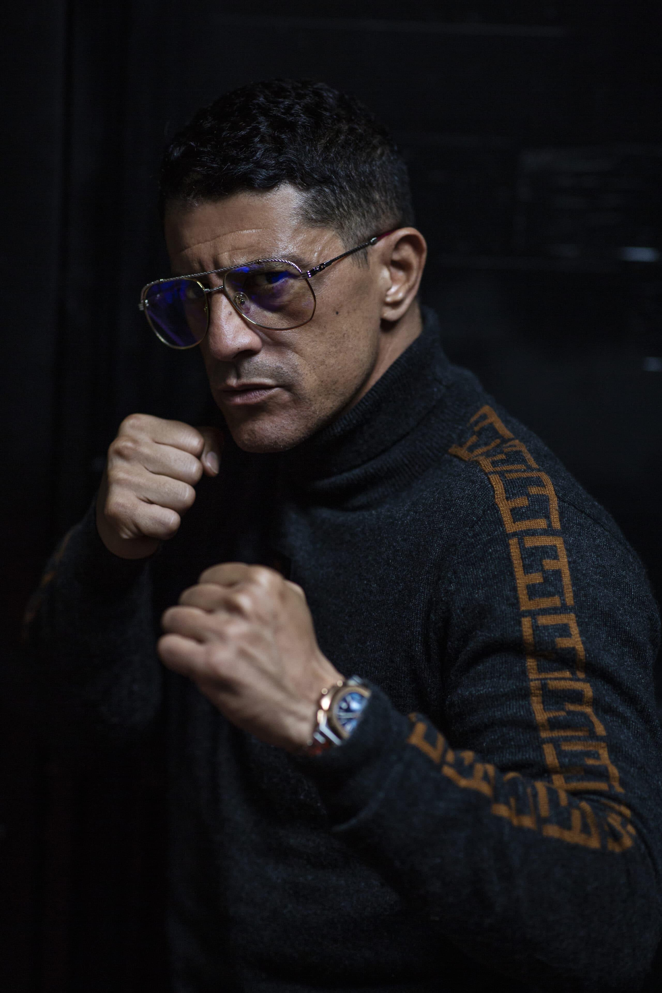 Saïd Taghmaoui-2-les Combats d'un Guerrier-ParisBazaar-Marion