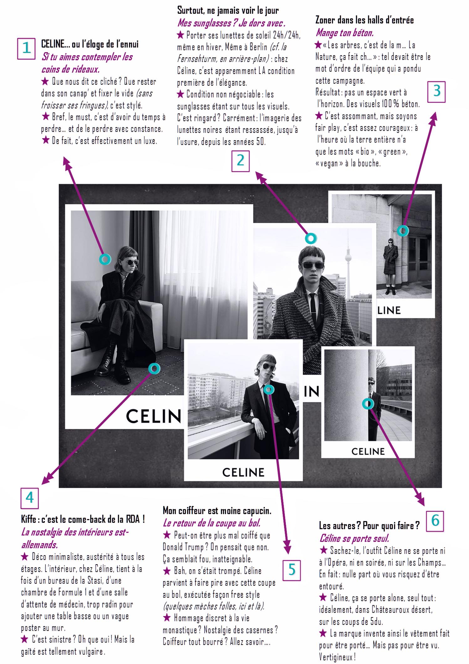 Céline-Def-Ces Images qui nous regardent-Campagne Céline-ParisBazaar-Ghis