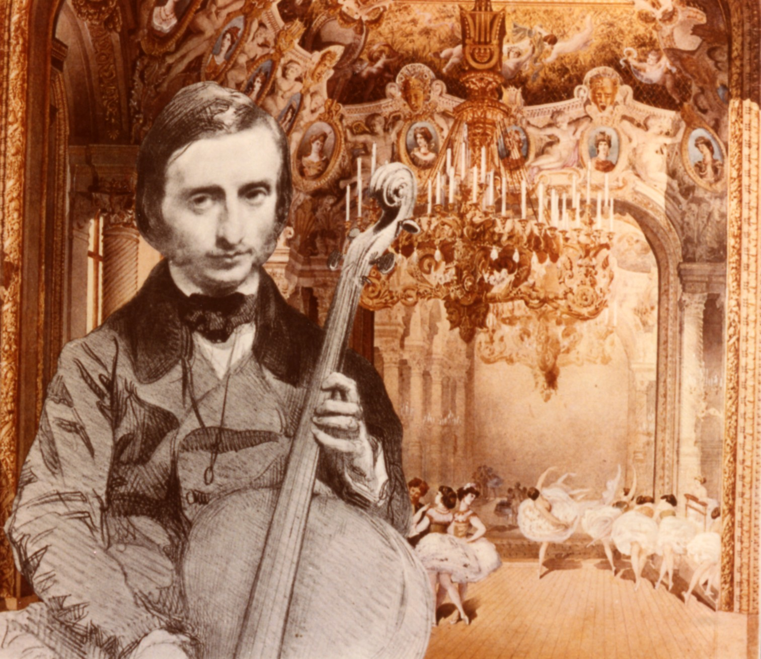 Offenbach-Violoncelliste-Les Foulées Mélomanes du Violoncelliste-Rire avec Offenbach-ParisBazaar-Berlingen