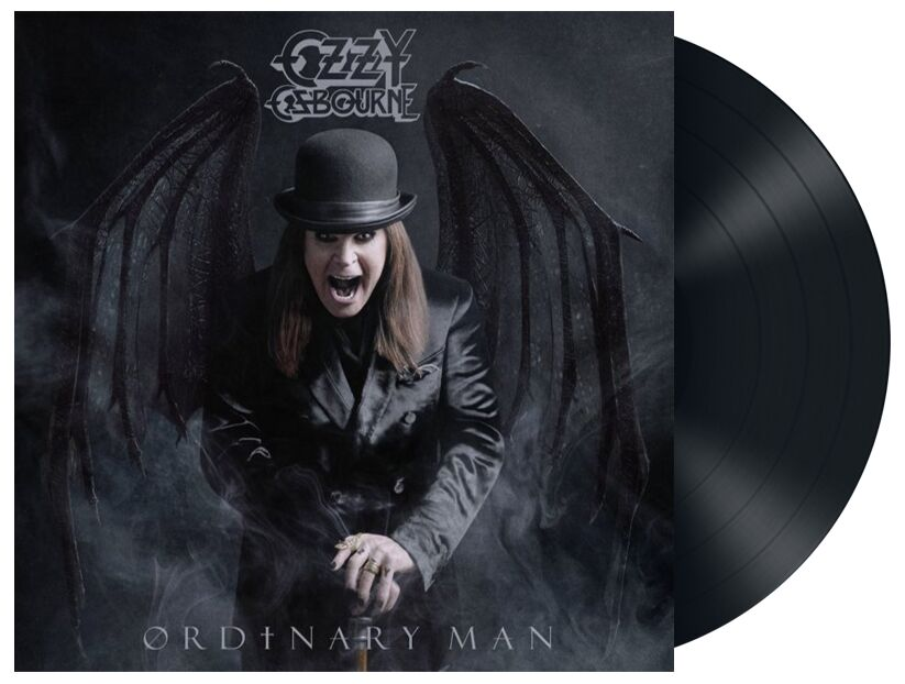 Année 2020 année du musicien-Ozzy Osbourne-Ordinary Man-Cover-ParisBazaar-Borde