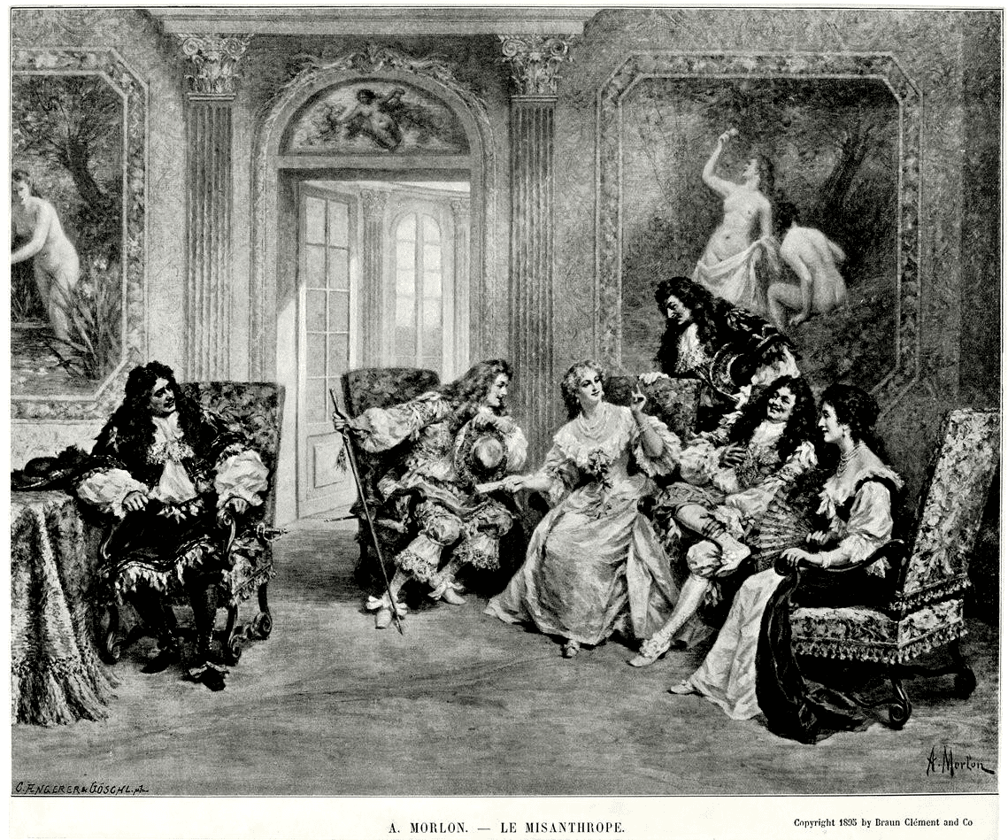 Les Lettres d'A. de Nicolas B.-Misanthrope par Morlon-ParisBazaar-Nicolas B.