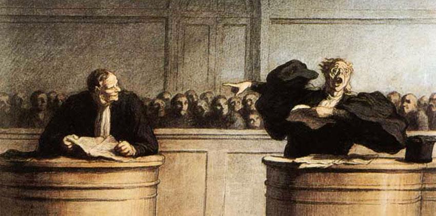 Lettres d'A. de Nicolas B-Justice Daumier-ParisBazaar-Nicolas B