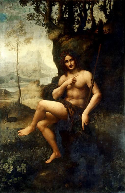 Un Détail, une Expo-Léonard de Vinci-Bacchus-ParisBazaar-Ghis