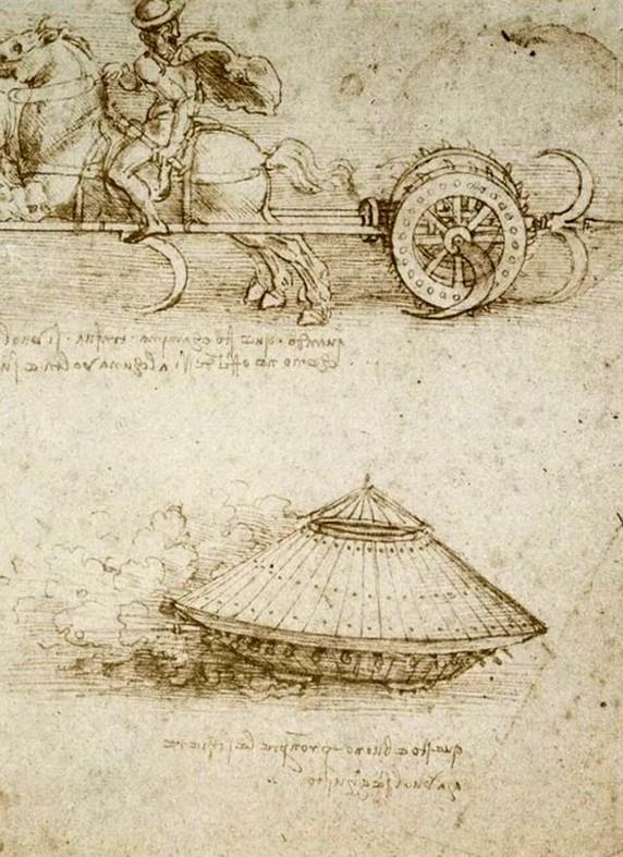 Un Détail, une Expo-Léonard de Vinci-Projet pour un Char-ParisBazaar-Ghis