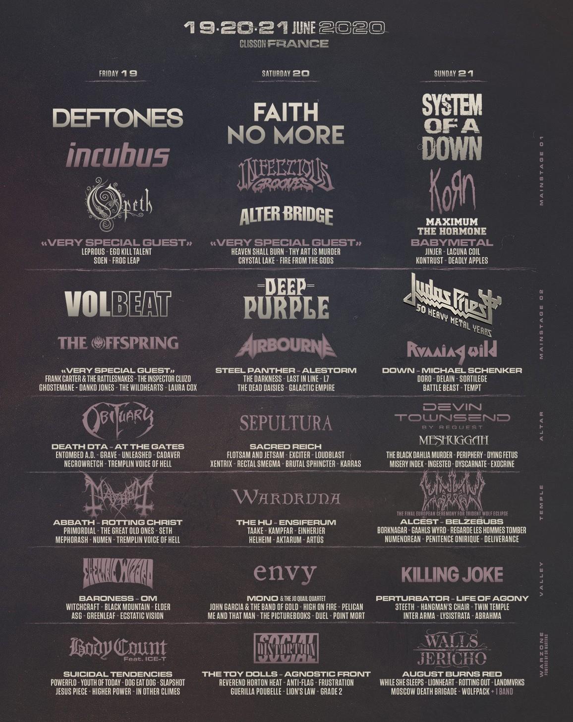Hellfest-le Paradis en Enfer-Programme-ParisBazaar-Borde