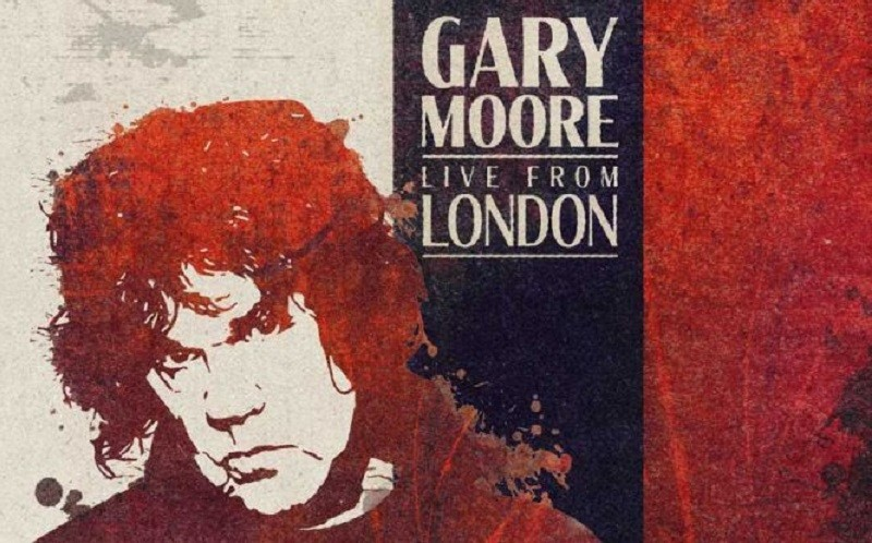 Live From London-une Nuit avec Gary Moore-Cover-ParisBazaar-Borde