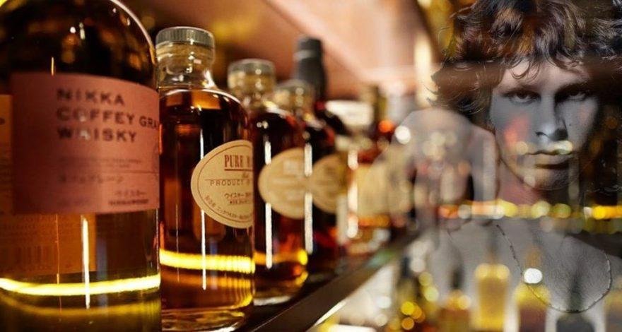 Les Litres et les Ratures font les belles Chansons-Doors-Whisky-Bar-ParisBazaar-Borde