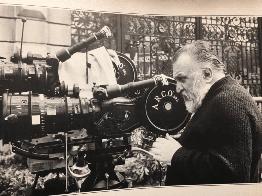 Nous Sommes ce que nous Fumes-Sergio Leone-Camera-ParisBazaar-Bergman