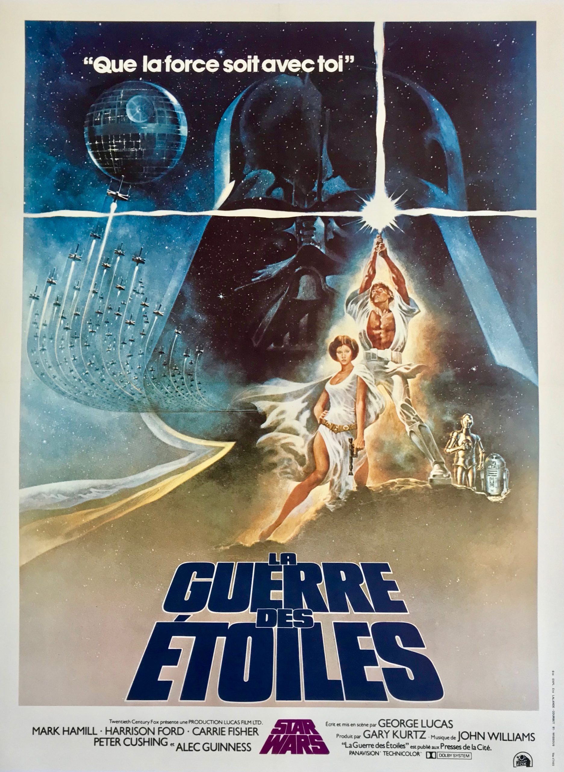 Les Foulées Mélomanes du Violoncelliste-Star Wars-Affiche-ParisBazaar-Berlingen