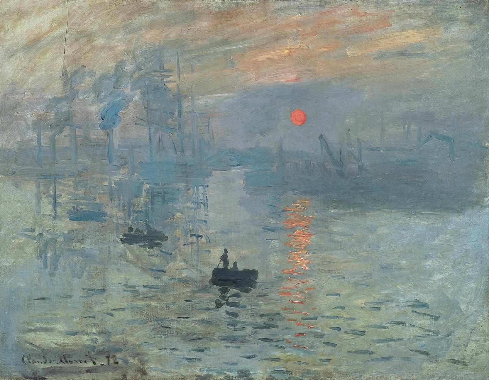 Les Foulées Mélomanes du Violoncelliste-De l'Aube au Crépuscule-Impression Soleil Levant-Monet-ParisBazaar-Berlingen